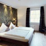 Komfortwohnung mit Betten ohne Fussteil