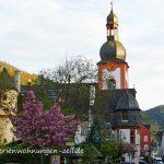 Blick in die Altstadt Zell Mosel