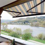 Komfortferienwohnung Inselblick mit Balkon und Moselblick